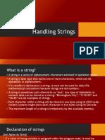 Handling Strings