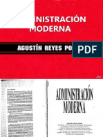 Agustin Reyes Ponce - Administracion Moderna