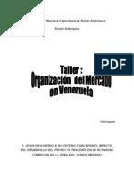 Taller 1 Organizacion Del Mercadeo en Venzuela