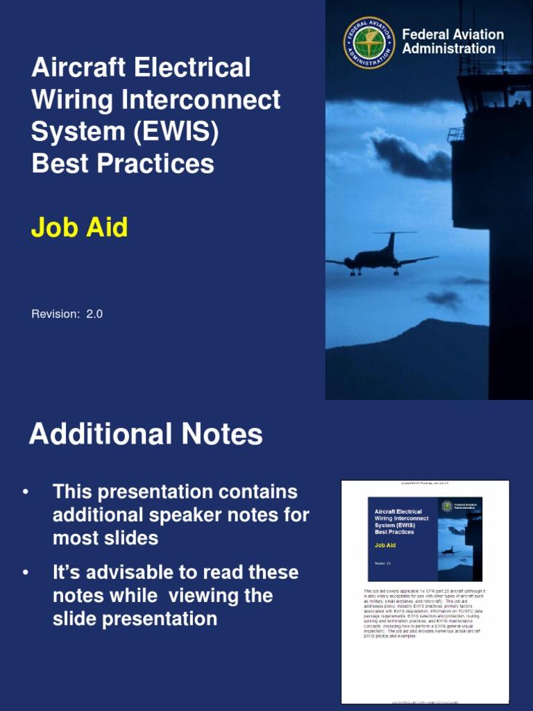 EWISjobaid20 Federal Aviation Administration Electrical