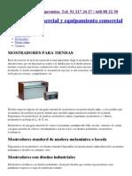 Mostradores para tiendas, mostrador comercios, negocios y recepción.pdf