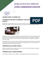 Mobiliario comercial, diseño y fabricación de muebles para tiendas.pdf