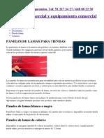 Paneles de lamas para tiendas, Estanterías de lamas para comercios.pdf