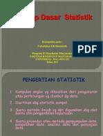 Konsep Dasar Biostatistik S2