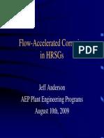 HRSG FAC - Jeff Anderson