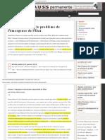 Pierre Clastres Et Le Probleme de Lemergence de LEtat Avec Prologue Maucourant -Libre
