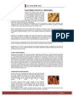 El Maiz Peruano en La Historia