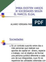 Tipo de Sociedades en Colombia