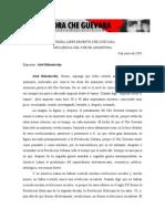 La Influencia Del Che en La Argentina