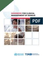 WHO 2012 Handbook on Dengue Management
