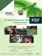 Estrategia Municipal de Adaptación al Cambio Climatico