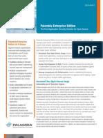 Palamida DataSheet Enterprise Edition