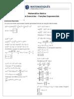 14ª Lista de Exercícios – Funções Exponenciais - Doc_matematica__1756475888