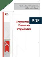 Componente de Formación Propedeútica