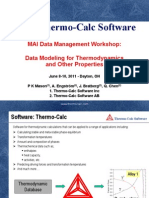 07 Data Modeling for Thermodynamics