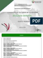 Programa de Biologia General