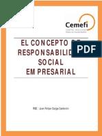 Concepto de Responsabilidad Social Empresarial