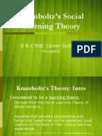 Krumboltz Theory