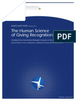 White Paper the Science of Giving Recognition1