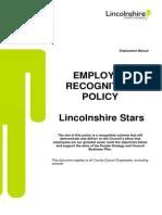 Employee Recognition Scheme
