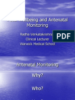 Antenatal Fetal Well Being