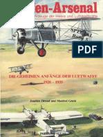 Waffen Arsenal - Special Band 05 - Die geheimen Anfänge der Luftwaffe 1920-1935