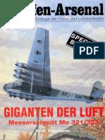 Waffen Arsenal - Special Band 06 - Giganten der Luft - Messerschmitt Me 321/323