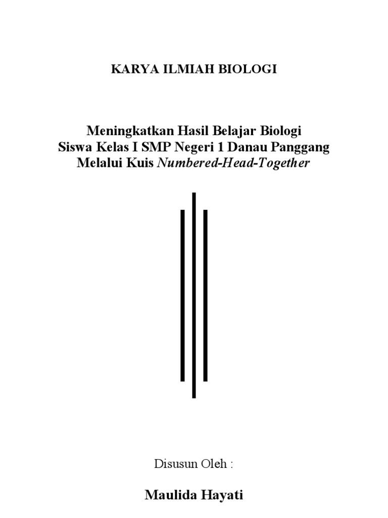Karya Ilmiah Biologi