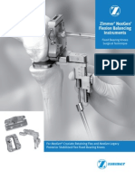 NexGen Flexion Balancing Instruments Surgical Technique 2897-5967-031-00 Rev1!29!2811 2009 29