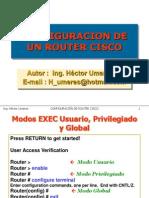 4) Config Router Cisco