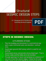 Sesmic Structural Design Steps