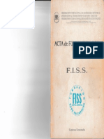 Acta de Fundamentación de La FISS