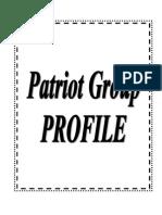 Patriot Group – Garment Manufacture