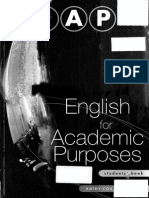 English for Academic Purposes ( EAP ) Now! Students Book