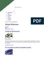 Habermas Articulos De