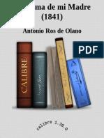 El Anima de Mi Madre (1841) - Antonio Ros de Olano