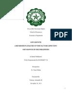 Centeno,Alexander 11148691 Econmet Final Paper