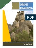 Unidad 10 Geomorfologia (Presentación)