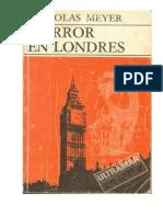 Meyer Nicholas - Horror en Londres