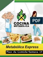 2.10Cocina Metablica Plan de Comida Semana 10