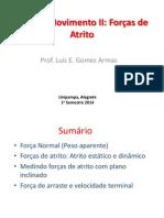 Força de Atrito_ Aula