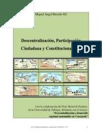 Descentralización, Participación Ciudadana y Constitucionalidad.