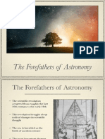 The Forefathers of Astronomy