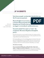 Overpayments of VA Benefits