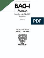 BACH ARIOSO PIANO CF $3.99