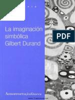 La Imaginacion Simbolica - Gilbert Durand