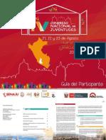 Guía del participante del IV Congreso Nacional de Juventudes