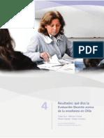 Capitulo 4 La Evaluacion Docente en Chile