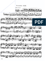 The Well Tempered Clavier II - Prelude & Fugue_13