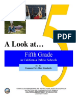 a look at 5th grade in ca public schools